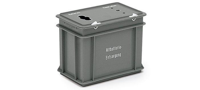 Samlingsbox för batterier