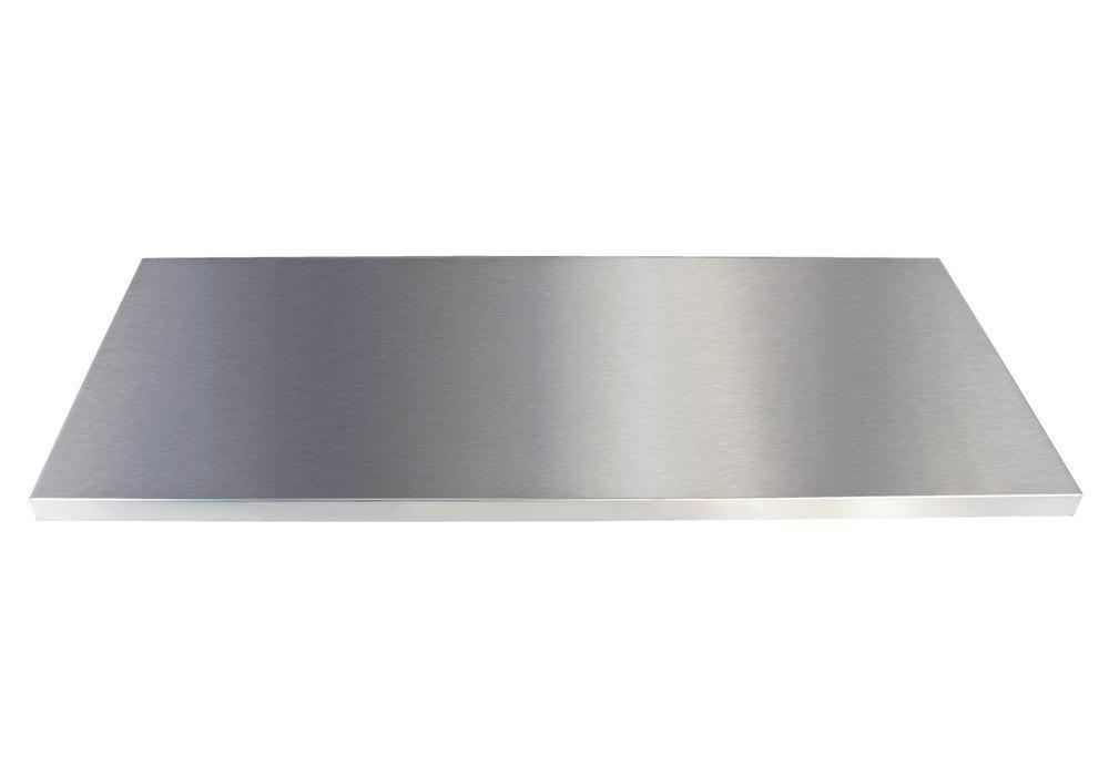 Rostfria hyllor för Variant-skåp, bredd 900 mm