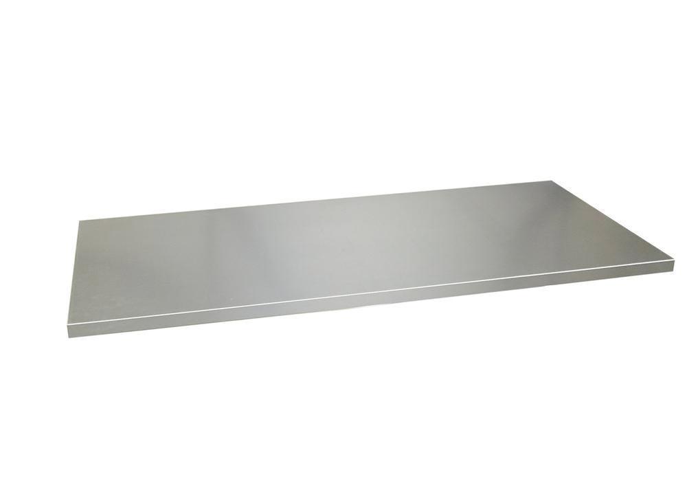 Hylla till jalusiskåp, förzinkad stål, 1000 mm bredd