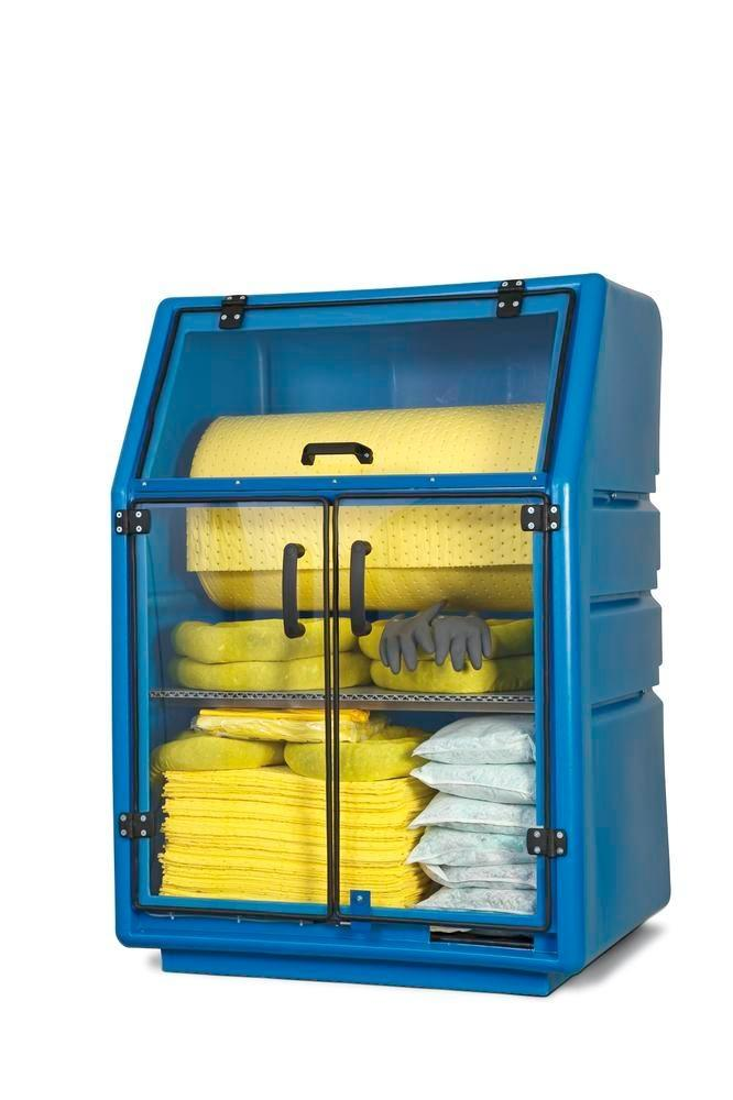 Påfyllningssats (utan absorbentrulle) kemikalie för spillskyddsskåp och box SF 200