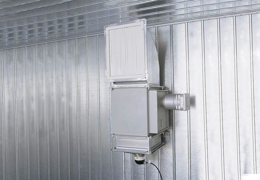 Installation Värme nej Ex för 1P 6/814-ISO B